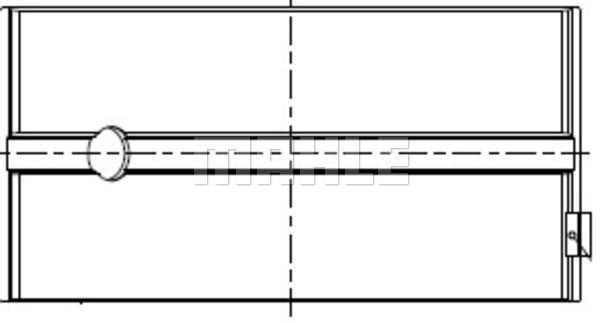 Coussinet de bielle MAHLE 007 PL 20214 200 (X1)