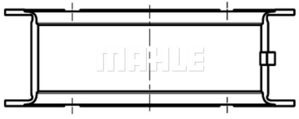 Coussinets de vilebrequin MAHLE 001 FL 10358 000 (X1)