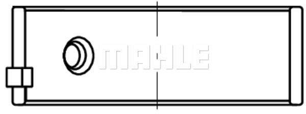 Coussinet de bielle MAHLE 007 PL 20459 220 (X1)