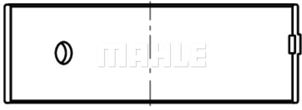 Coussinet de bielle MAHLE 439 PL 20909 050 (X1)