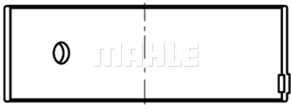 Coussinet de bielle MAHLE 061 PL 21093 025 (X1)
