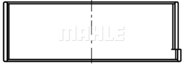 Coussinet de bielle MAHLE 061 PL 18144 075 (X1)