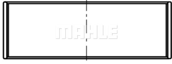 Coussinets de vilebrequin MAHLE 222 HL 20836 000 (X1)