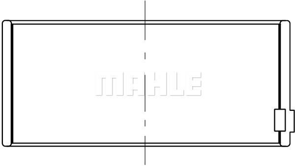 Coussinet de bielle MAHLE 061 PL 20273 000 (X1)
