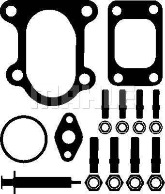 Kit montage turbo MAHLE 001 TA 17361 000 (X1)