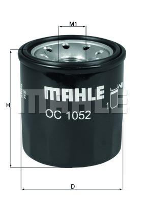 Filtre a huile MAHLE OC 1052 (X1)