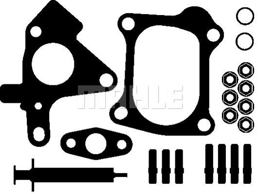 Kit montage turbo MAHLE 021 TA 14642 000 (X1)