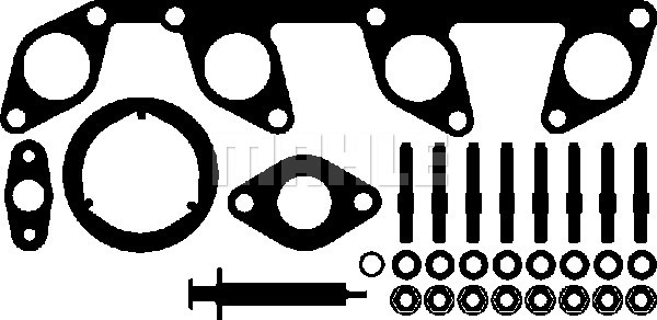 Kit montage turbo MAHLE 030 TA 16761 000 (X1)