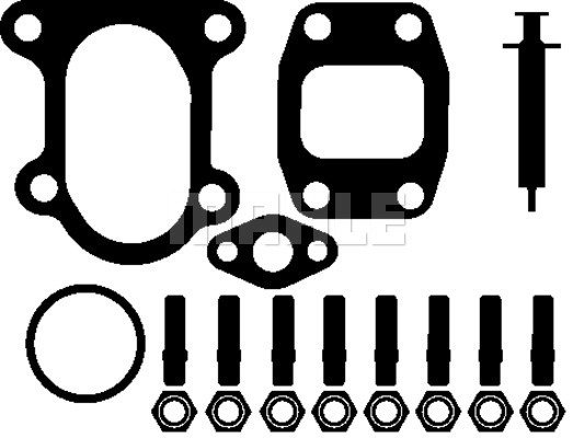 Kit montage turbo MAHLE 001 TA 17023 000 (X1)