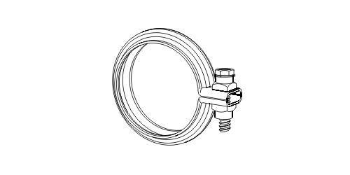 Raccord de tuyau d'echappement ERNST 495981 (X1)