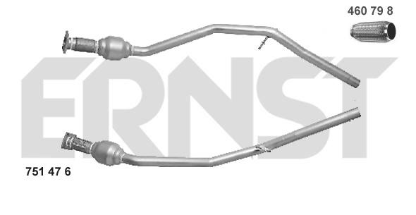 Catalyseur ERNST 751476 (X1)