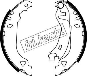 kit de frein arrière simple ou prémonté fri.tech. 1034.090 (Jeu de 4)
