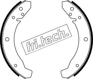 kit de frein arrière simple ou prémonté fri.tech. 1124.250 (Jeu de 4)