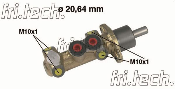 Maitre-cylindre fri.tech. PF006 (X1)