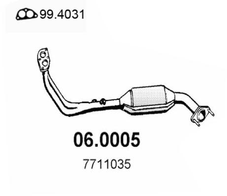Catalyseur ASSO 06.0005 (X1)