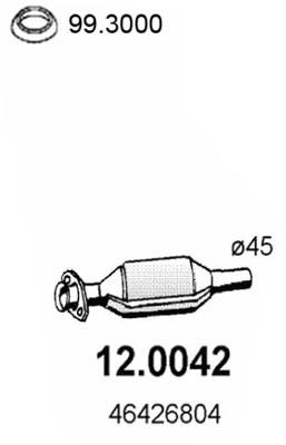 Catalyseur ASSO 12.0042 (X1)