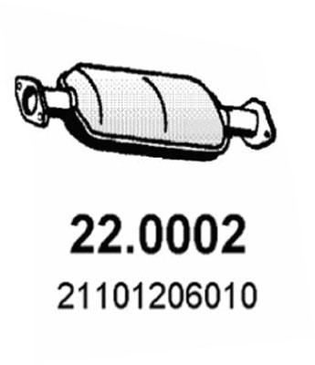 Catalyseur ASSO 22.0002 (X1)