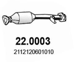 Catalyseur ASSO 22.0003 (X1)