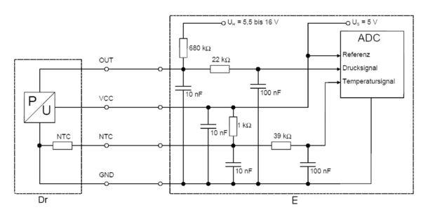 Capteur, température de carburant BOSCH 0 261 230 249 (X1)