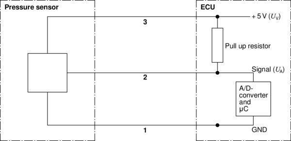Capteur, pression de carburant BOSCH 0 281 002 398 (X1)