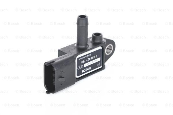Capteur, pression des gaz échappement BOSCH 0 281 002 770 (X1)