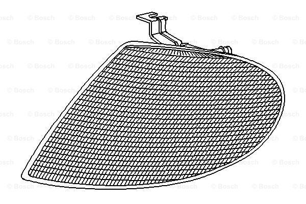 Clignotant BOSCH 0 311 325 002 (X1)