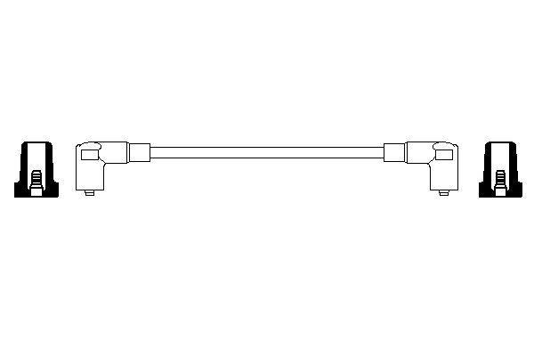 Cable de bobine d'allumage (X1)