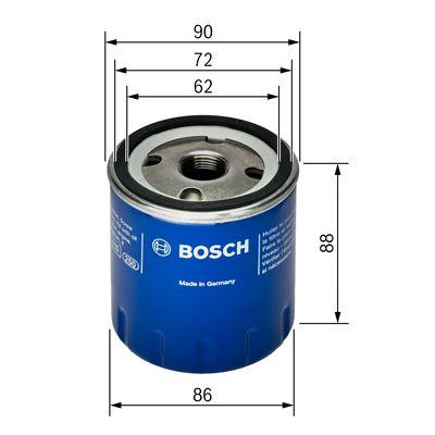 Filtre a huile BOSCH 0 451 103 189 (X1)