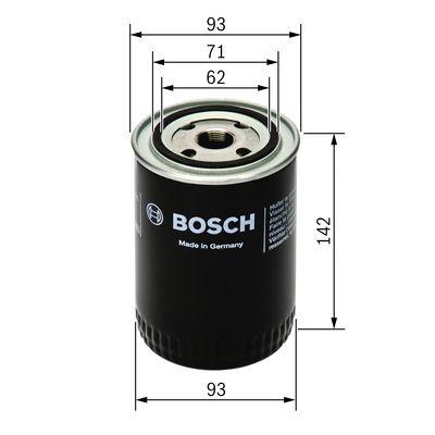 Filtre a huile BOSCH 0 451 203 005 (X1)