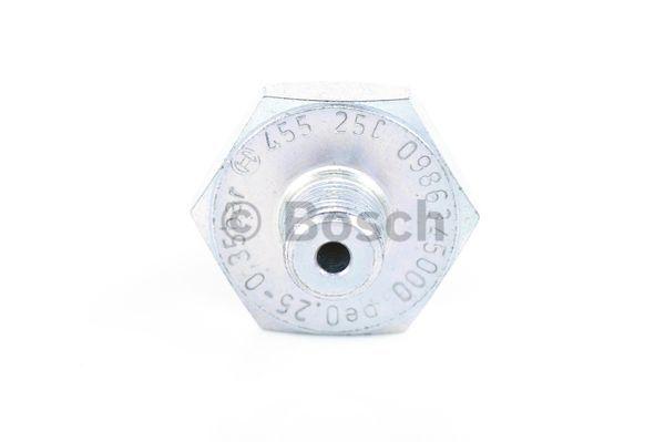 Capteur, pression d'huile BOSCH 0 986 345 000 (X1)