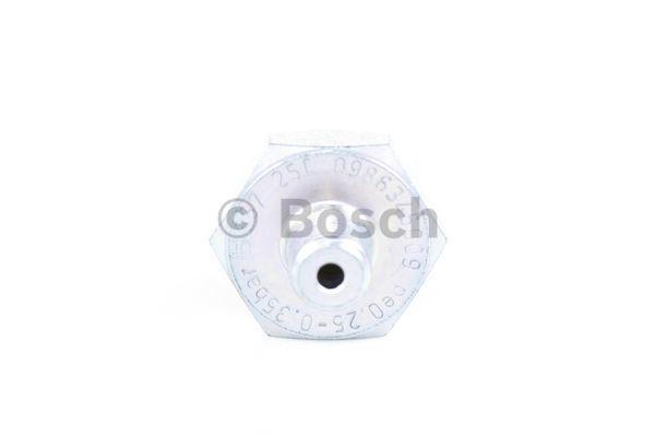 Capteur, pression d'huile BOSCH 0 986 345 009 (X1)
