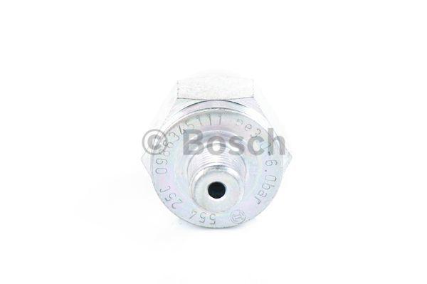 Capteur, pression d'huile BOSCH 0 986 345 111 (X1)