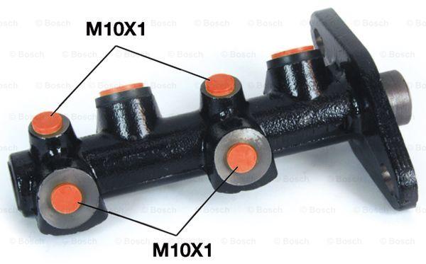 Maitre-cylindre BOSCH 0 986 480 973 (X1)