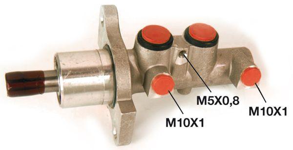 Maitre-cylindre BOSCH 0 986 480 988 (X1)