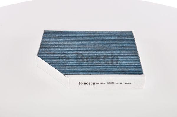 Filtre d'habitacle BOSCH 0 986 628 522 (X1)