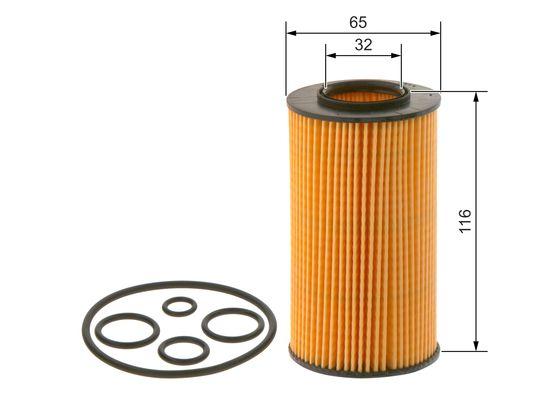 Filtre a huile BOSCH 1 457 429 263 (X1)