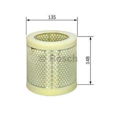Filtre a air BOSCH 1 457 432 136 (X1)