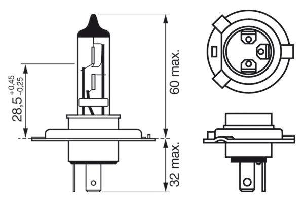 Ampoules BOSCH 1 987 302 048 (X1)