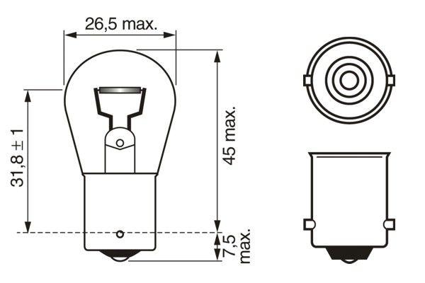 Ampoules BOSCH 1 987 302 280 (X1)