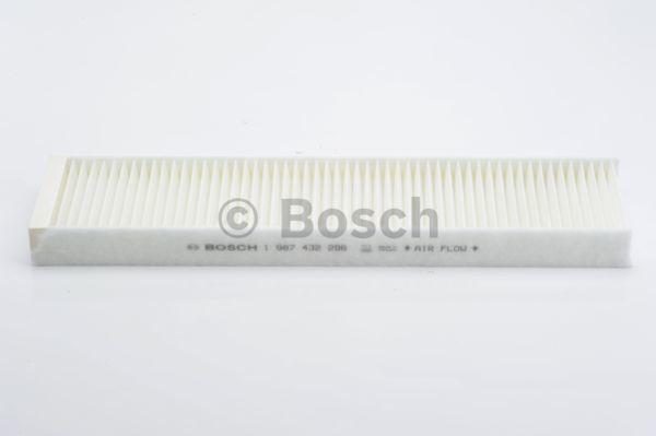 Filtre d'habitacle BOSCH 1 987 432 296 (X1)
