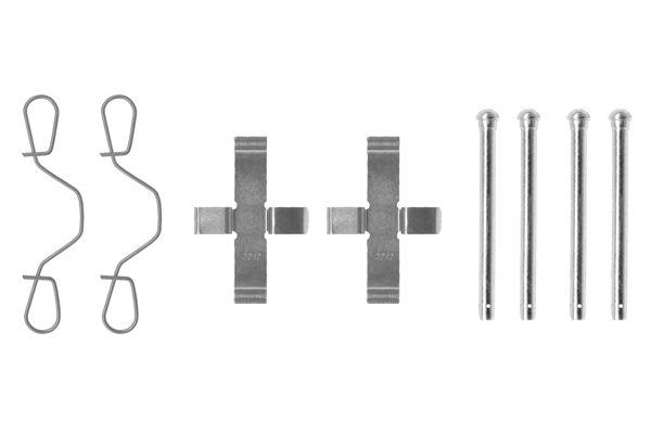 Kit de montage plaquettes de frein BOSCH 1 987 474 003 (X1)
