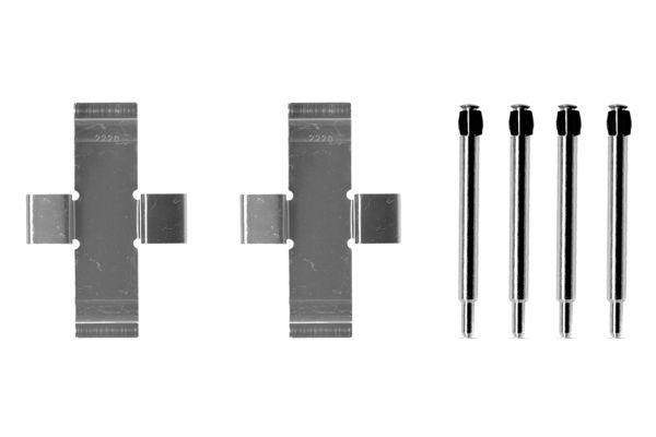 Kit de montage plaquettes de frein BOSCH 1 987 474 007 (X1)
