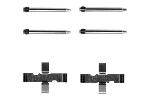 Kit de montage plaquettes de frein BOSCH 1 987 474 014 (X1)