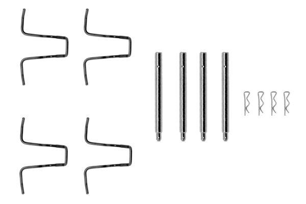 Kit de montage plaquettes de frein BOSCH 1 987 474 025 (X1)