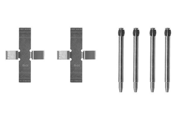 Kit de montage plaquettes de frein BOSCH 1 987 474 041 (X1)