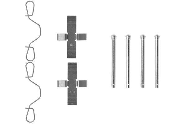 Kit de montage plaquettes de frein BOSCH 1 987 474 042 (X1)