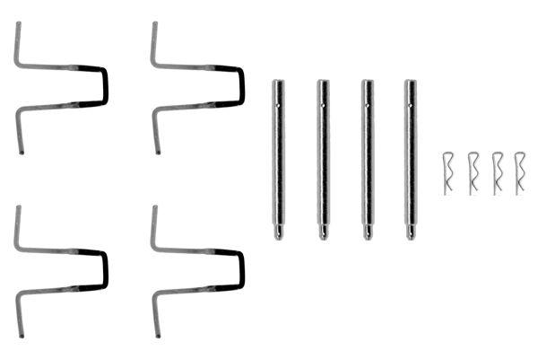 Kit de montage plaquettes de frein BOSCH 1 987 474 054 (X1)
