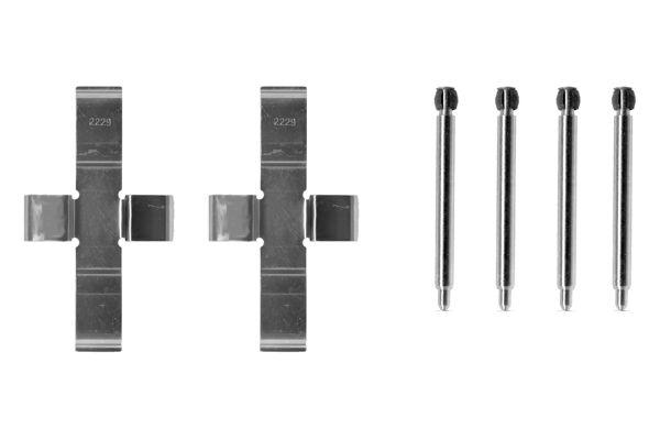 Kit de montage plaquettes de frein BOSCH 1 987 474 055 (X1)