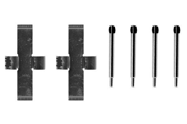 Kit de montage plaquettes de frein BOSCH 1 987 474 061 (X1)