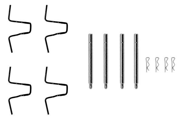 Kit de montage plaquettes de frein BOSCH 1 987 474 062 (X1)